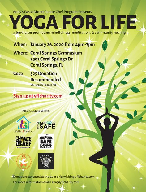 Yoga For Life Flyer
