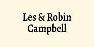 Les and Robin Campbell